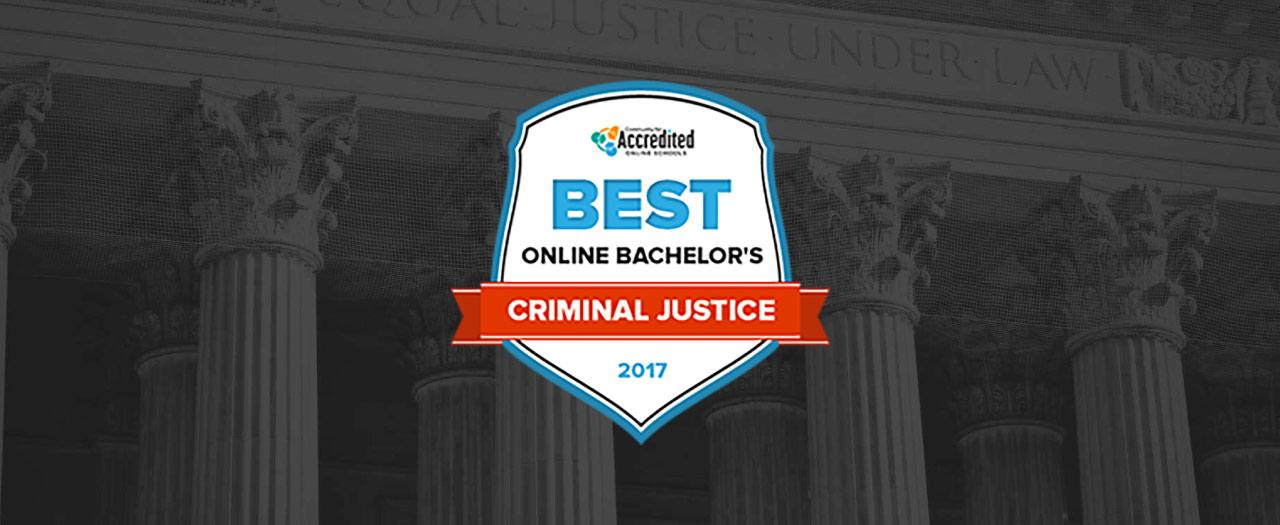 Best Online Programs - Criminal Justice