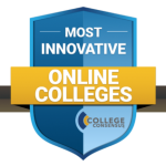 Most Innovative Online Colleges Badge