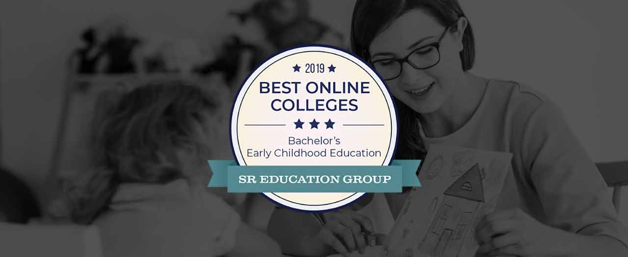 2019 Best Online Colleges for Bachelor's Early Childhood Development Badge
