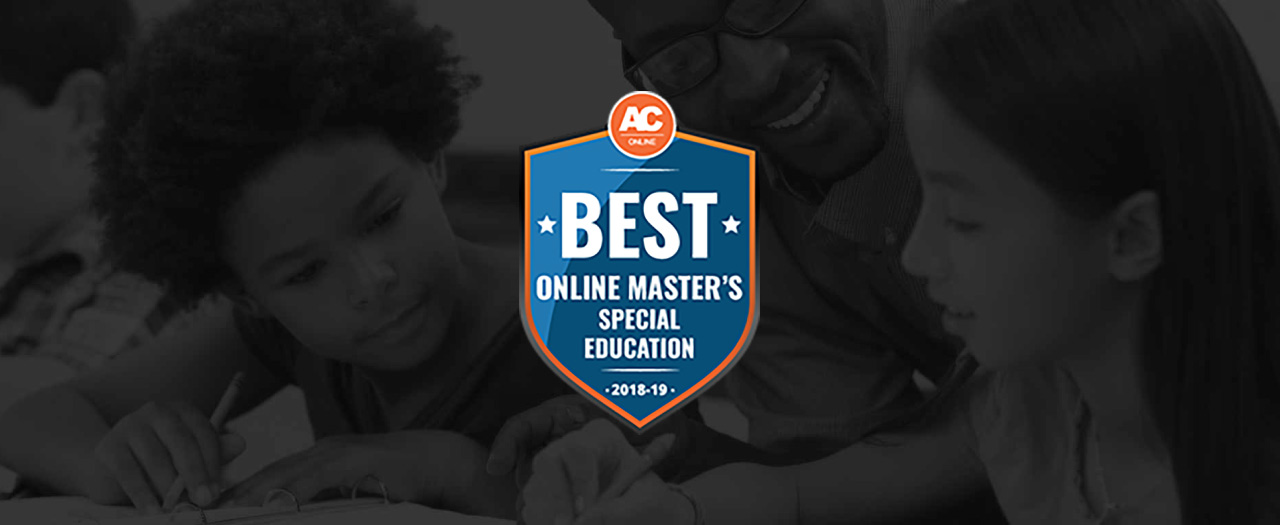 Best Online Masters, Special Education Badge
