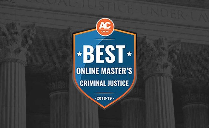 AC Online - Best Online Master's Criminal Justice Badge
