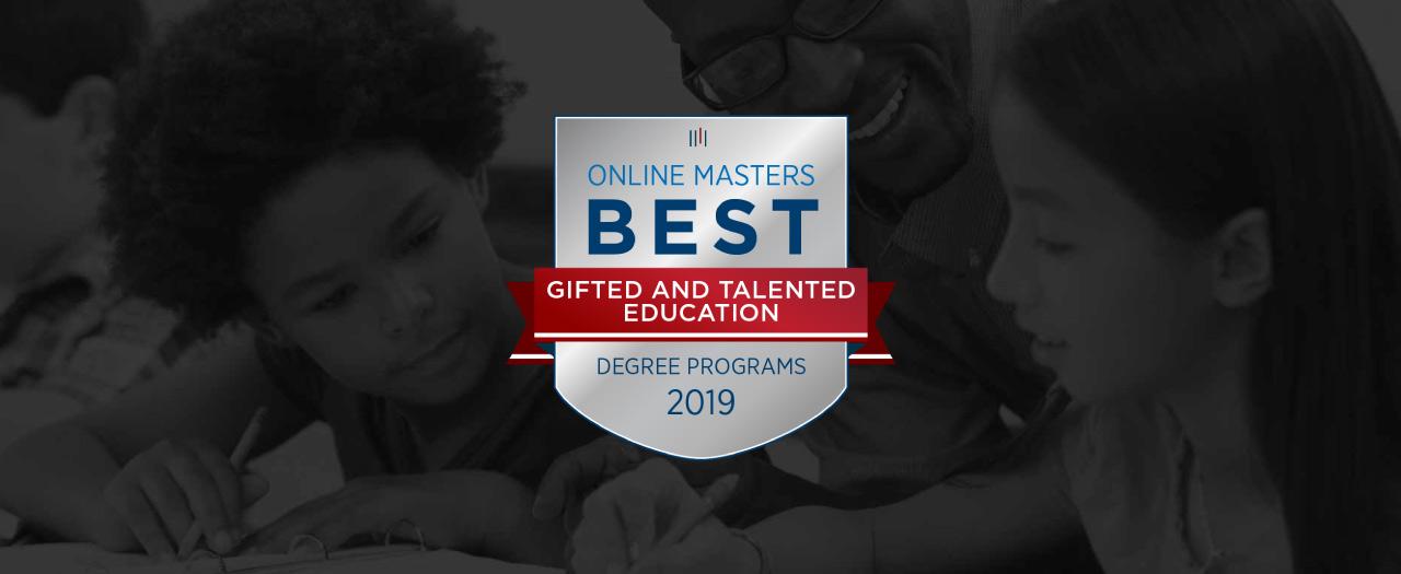 Best Online Masters Gifted and Talented Education Degree Programs Badge
