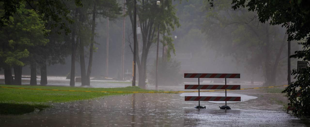 Emergency Management during severe flooding
