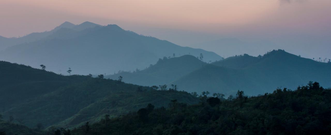 Appalachian Mountains, foggy