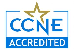 Accredited by the Commission on Collegiate Nursing Education
