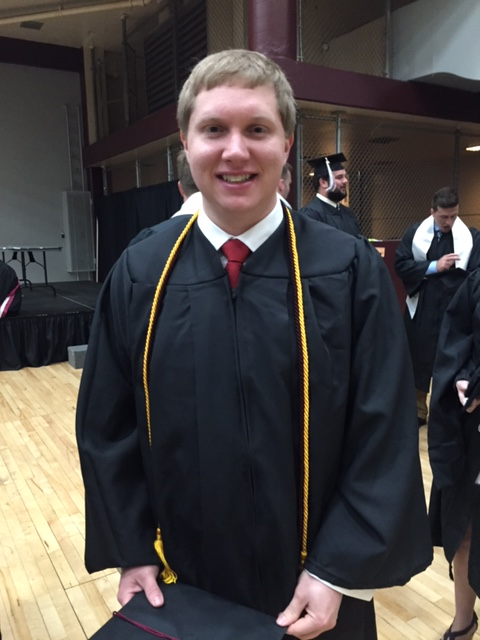 Homeland Security Grad Andrew Dunbar