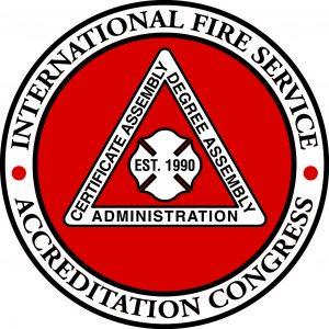 International Fire Service Accreditation Congress Seal