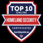 Top 10 Online Homeland Security Certificates