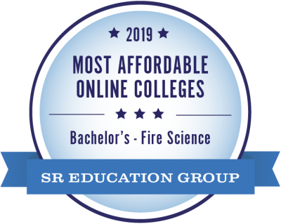 SR Education Group 2019 Most Affordable Online Colleges for Bachelor's in Fire Science
